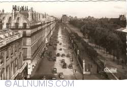Imaginea #1 a Paris - Rue de Rivoli şi Palatul Louvre (Rue de Rivoli et Palais du Louvre) (1954)