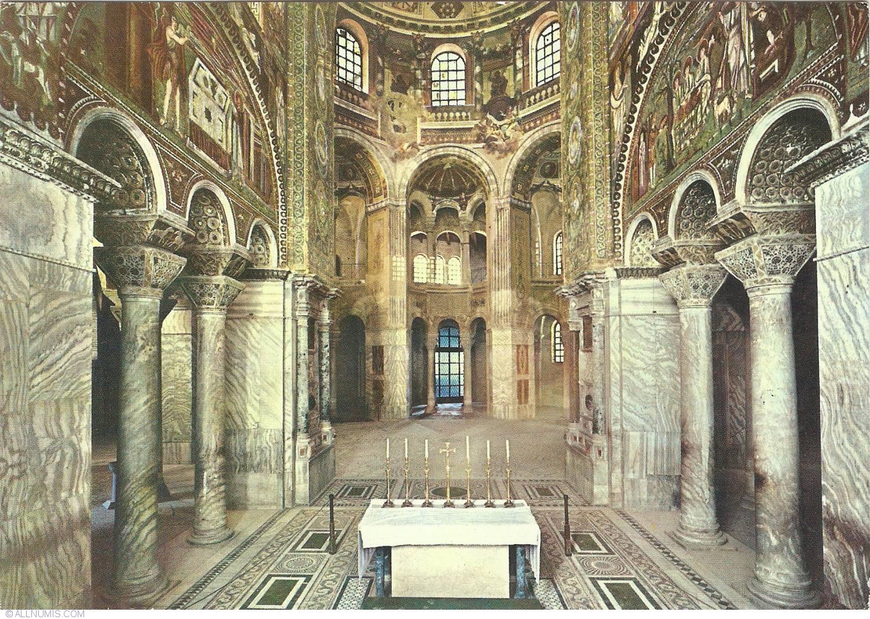 Ravenna Basilica Of San Vitale Ravenna Italy