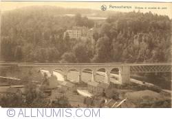 Image #1 of Remouchamps - Castle and arches of the bridge (Château et arcades du pont)