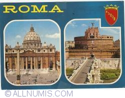 Image #1 of Roma - St. Peters Basilica and Castel Sant Angelo