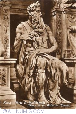 Image #1 of Rome - San Pietro in Vincoli Church - Moses by Michelangelo (Mose di Michelangelo - Chiesa di San Pietro in Vincoli)
