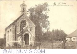 Image #1 of Saint-Hubert - Chapelle de Chasseurs et ancienne malson des moins (1928)