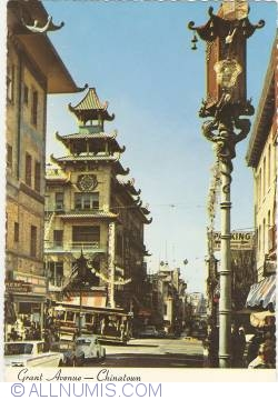 San Francisco - Grant Avenue. Chinatown (1976)