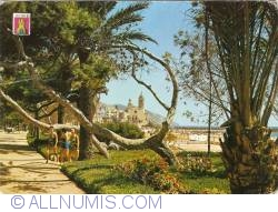 Image #1 of Sitges - Ribera Promenade and Church (1968)