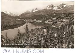 Image #1 of St. Moritz with Piz della Margna, Piz Albana and Piz Juller