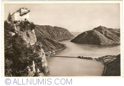 Image #1 of Monte San Salvatore - View towards Lake Lugano (1949)