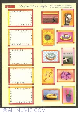 Image #1 of Surprise Stamps Mini-sheet 1998