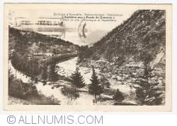 """Imaginea #1 a Amblève la """"Fonds de Quareux"""", în apropiere de Aywaille-Remouchamps-Nonceveux (Environs d'Aywaille-Remouchamps-Nonceveux, L'Amblève aux """"Fonds de Quareux"""") (1948)"""