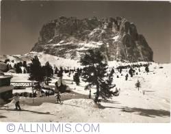 Val Gardena - Skilift to Rifugio Emilio Comici (2154 m) (1961)