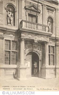 Image #1 of Veurne (Furnes) - Court of Justice: the Portal (Palais de Justice: le Portail – Gerechtshof: het Portaal)