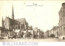 Image #1 of Veurne (Furnes) - Market Place and Ruined Houses (La Grand Place et maisons détruites)