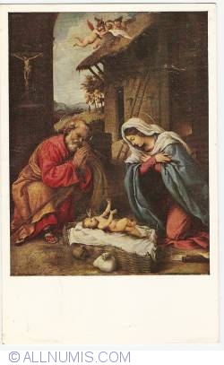 Image #1 of Washington D.C. - National Gallery of Art - The Nativity by Lorenzo Lotto (1971)