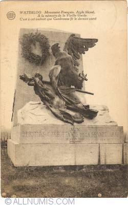 Image #1 of Waterloo - French Monumen. The Wounded Eagle (Monument Français. Aigle Blessé)