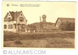 """Image #1 of Wenduine (De Haan) - Water Tower and Villa """"Onze Kleintjes"""""""