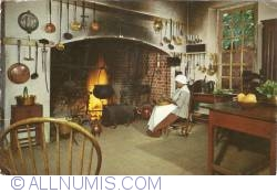 Image #1 of Williamsburg, Virginia - Governor's Palace Kitchen (1961)