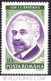 10 lei 1992 - 130 ani de la creearea MAE, Ion Constantin Brătianu