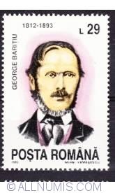 29 Lei 1993 - George Baritiu (1812-1893)