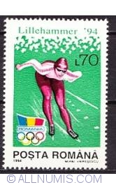 70 Lei 1994 - XVII Olympic Winter Games in Lillehammer - speed skater