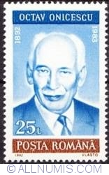 25 Lei 1992 - Oscar Onicescu