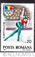 20 lei 1992 - Albertville Winter Olympics games - Speed skating