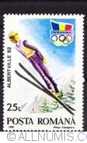 25 lei 1992 - Albertville Winter Olympics games - Ski jump