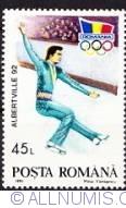 45 lei 1992 - Jocurile Olimpice de iarna Albertville