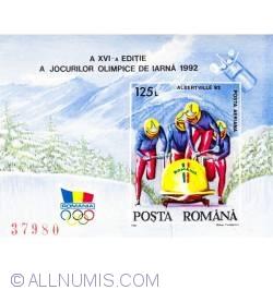 125 lei 1992 - Jocurile Olimpice de iarna Albertville