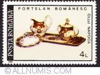 4 lei 1992 - Portelan romanesc-new