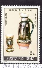 8 lei 1992 - Portelan romanesc-new