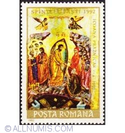 10 lei 1992 - Sfintele Pasti