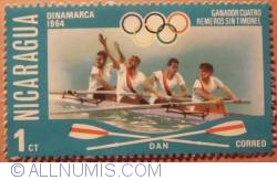 Image #1 of 1 Ct Coxless four-1964 Danemark 1976