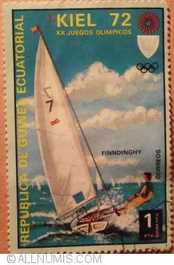 Image #1 of 1 Pta Finn dinghy-Kiel Summer Olympics 1972