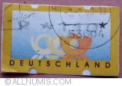 110 Pf Deutsche Bundespost 1999