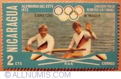 Image #1 of 2 Cts Coxless pairs-1972 Germany DDR 1976