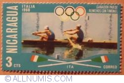 Image #1 of 3 Cts Men's coxed pairs-1968 Italy 1976