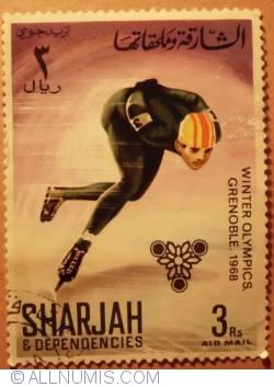 Image #1 of 1968 3 Riyals  Speed Skater