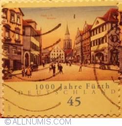 Image #1 of 45 € 1000th anniversary Fürth 2007