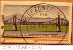 0,55 € 100 Jahre Salzachbrucke Laufen-Obendorf  2003