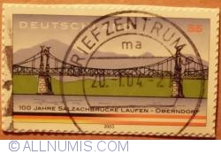 Imaginea #1 a 0,55 € 100 Jahre Salzachbrucke Laufen-Obendorf  2003