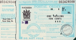 1 Shilling / 10 Cents 1970 (23rd. of October)