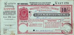 10 Shillings 1946 (24th. of June)
