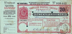 Image #1 of 20 Shillings (1 Pound) 1946 (24th. of June)