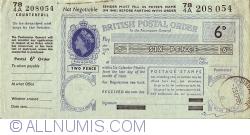 Imaginea #1 a 6 Pence 1965 (2 septembrie)