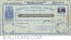 Imaginea #1 a 1 Shilling & 6 Pence 1906 (14 februarie)