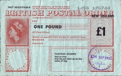 Image #1 of 1 Pound 1981 (Issued at Linden on September 14th)
