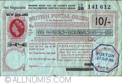 Image #1 of 10 Shillings 1961 (27th of September)