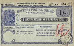 Imaginea #1 a 1 Shilling 1947 (19. V.) - emis la  St. Anne Street, Liverpool (Lancashire)