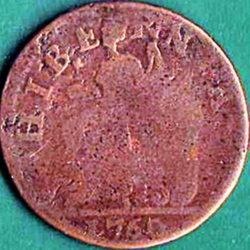 Imaginea #2 a 1/2 Penny 1760 - Voce Populi& - Voice of the People