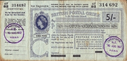 Image #1 of 5 Shillings 1962 (16th. of August).