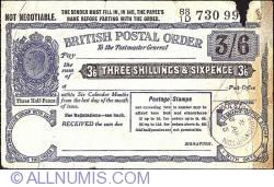 Imaginea #1 a 3 Shillings & 6 Pence 1945 (28 aprilie)